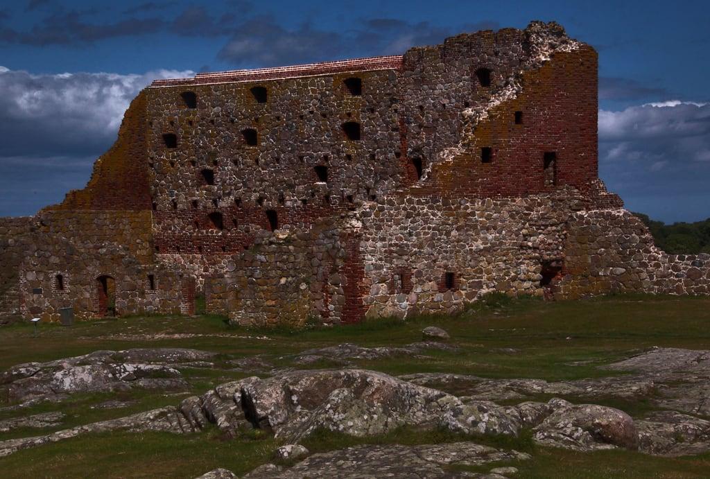 Image of Hammershus. hammershus slot slott castle château bornholm danmark danemark denmark dänemark giåm guillaumebavière