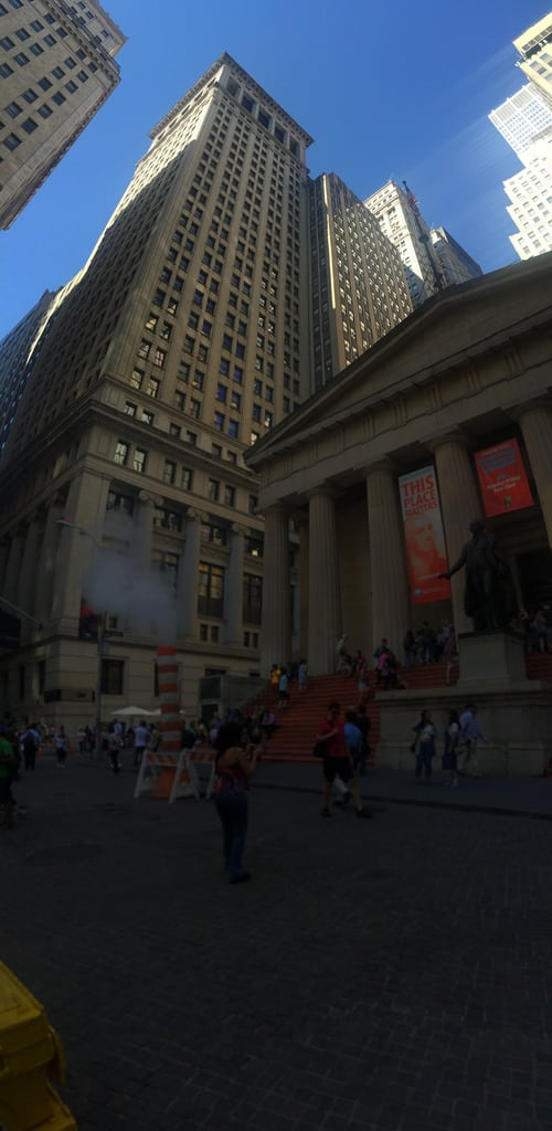 Attēls no Federal Hall National Memorial. touro college new york city united states trinity church manhattan wall street broadway financial district lower downtown equitable building brooklyn bridge federal hall national memorial stapleton staten island battery park dumbo down under overpass vinegar hill empirefulton ferry east river koreatown midtown empire state murray duffy square times seventh avenue