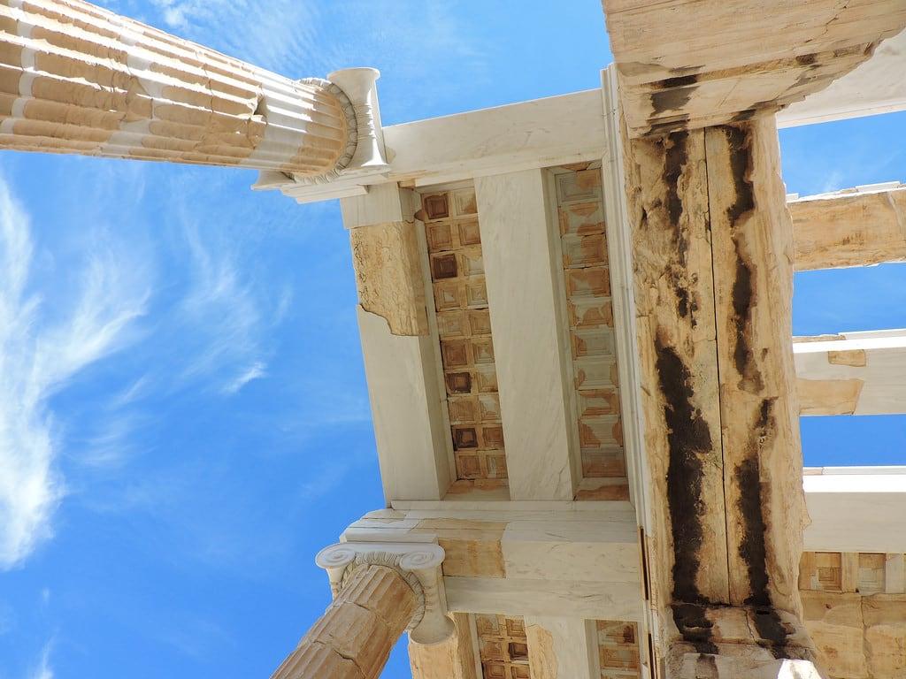 Obrázek Propylaea. athens αθήνα アテネ propylaea προπύλαια プロピュライア ancient 古代ギリシア greece propylaia ギリシア