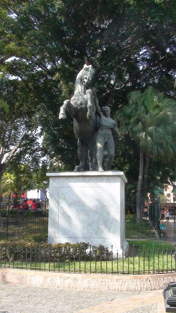 Image of Parque Centenario. ecuador