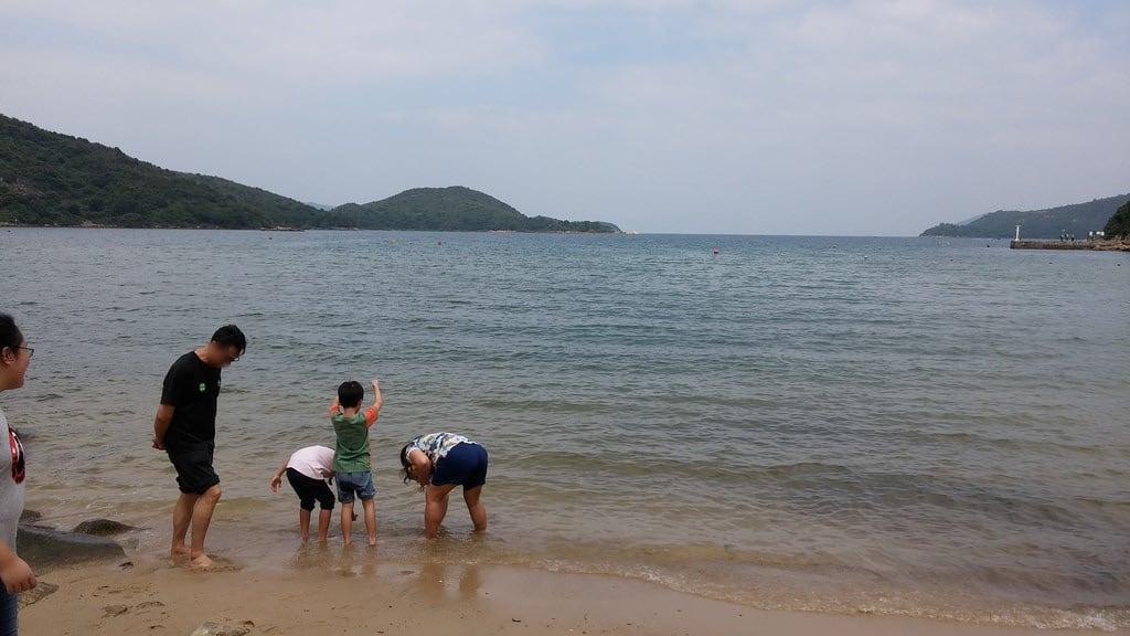 Attēls no Hoi Ha Beach 海下灣沙灘 Pludmale ar 78 metru garumu.