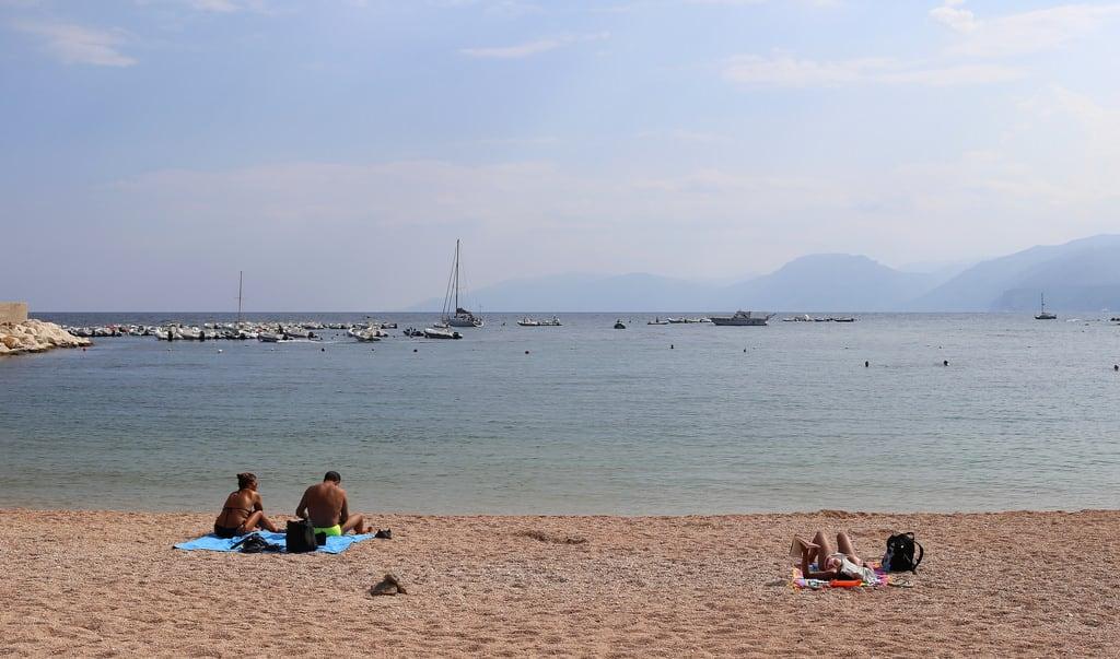 Spiaggia Centrale 的形象. sardinia sardegna sardaigne cala gonone italy italie italia