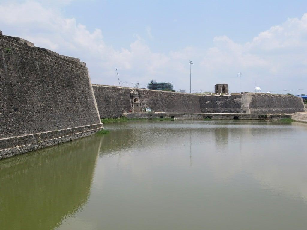 Image of Jaffna Fort. srilanka jaffna fort