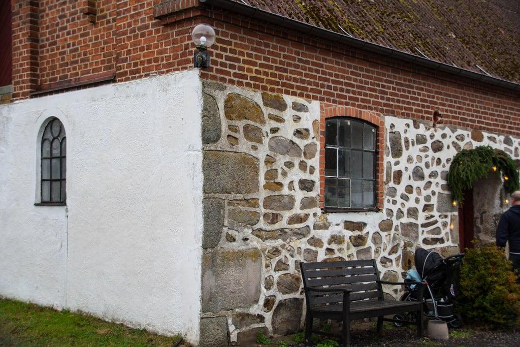 Image of Bosjökloster. bosjökloster castle julmarkand swden buildiong höör bosjöklosterslott december christmas slott hus skånelän sverige se