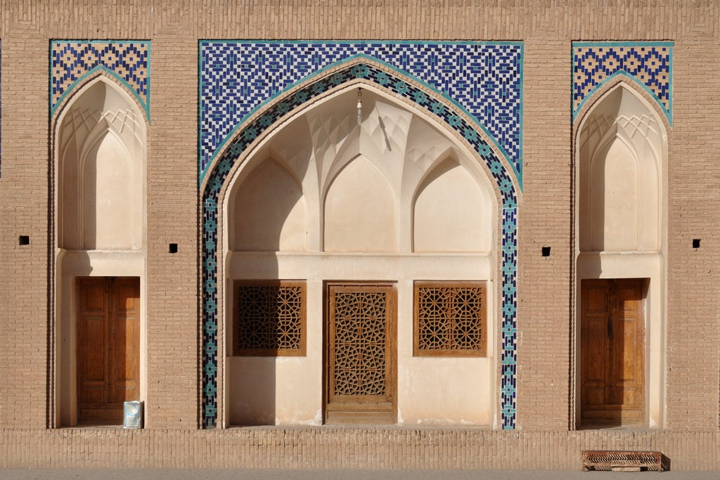 Image of Agha Bozorg. iran perse persia kashan religion islam muslim musulman god dieu mosquée mosque aghabozorg