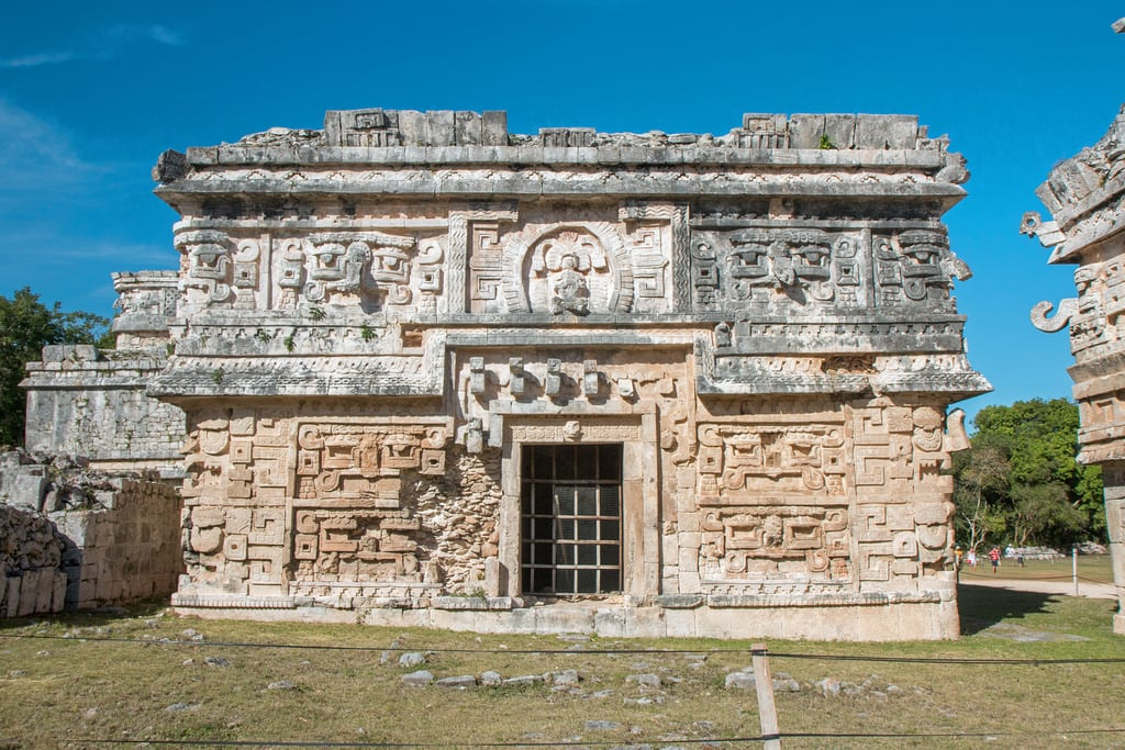 תמונה של Chichen Itzá ליד San Felipe Nuevo. 2017 mexico yucatan january winter mayan chichenitza ruins mexique estadosunidosmexicanos thenunnery edificiodelasmonjas mexiko 墨西哥