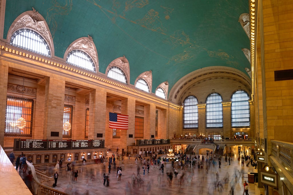 صورة Grand Central Terminal. building landmark panorama hdr longexposure tripod