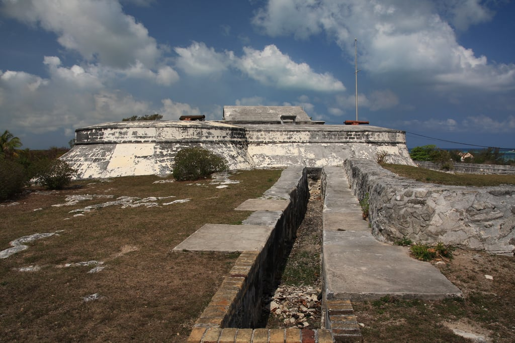 Image of Fort Charlotte.