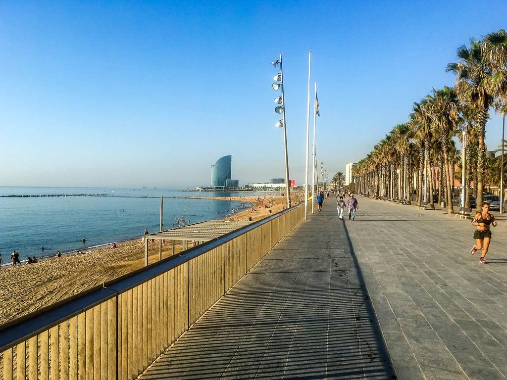 Image of Platja de la Barceloneta. barcelona katalonien spanien es