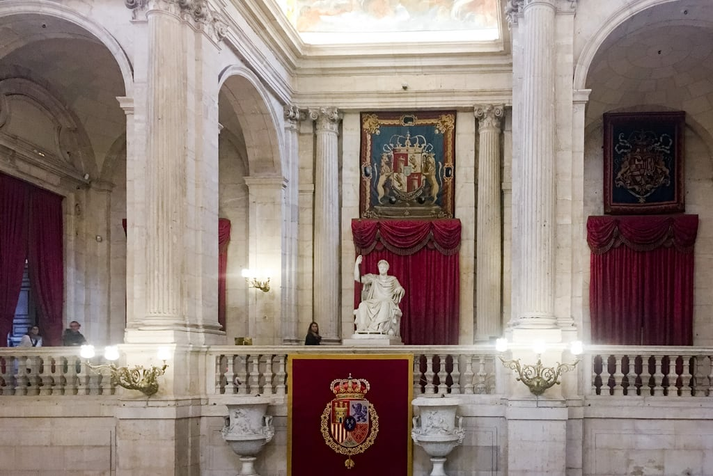 Bild av Royal Palace. 2017 madrid palace palaciorealdemadrid royalpalaceofmadrid spain comunidaddemadrid es