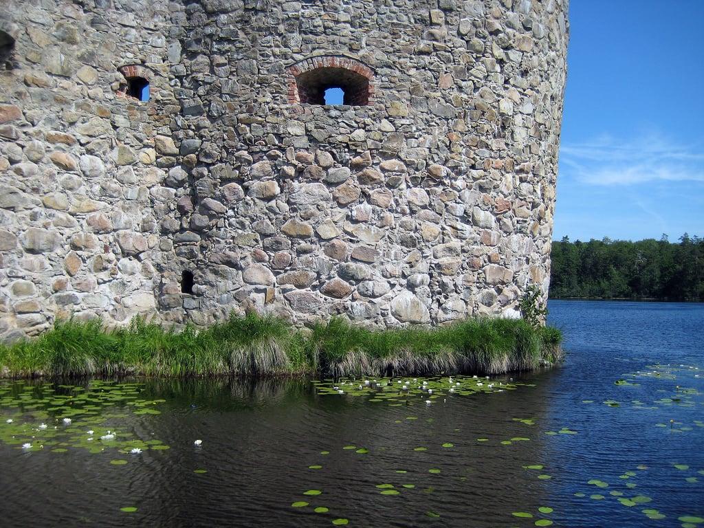 Image of Kronoberg Castle Ruins. castle ruin kronobergsslottsruin