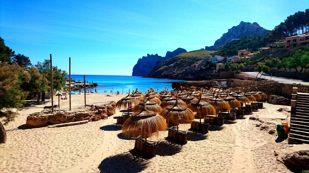 """Imagen de Cala Molins. calla st vincente vincent pollenca """"platje port de pollenca"""" talaia vella molins camidecallacarbb marina"""