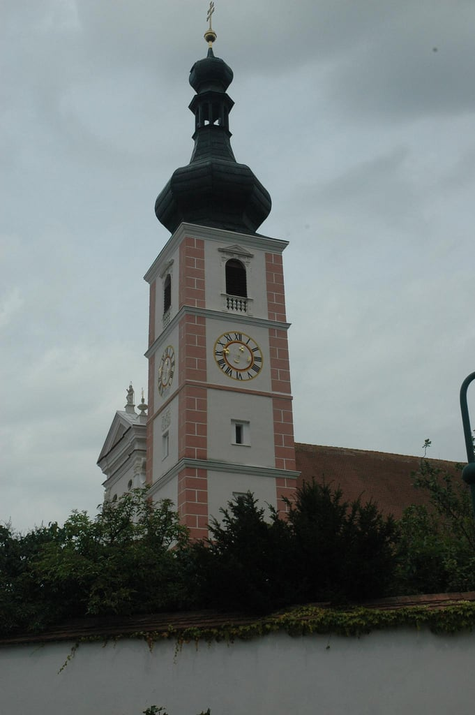 Obraz Stift Geras. church austria österreich kirche monastery niederösterreich kloster waldviertel stift loweraustria geras stiftgeras