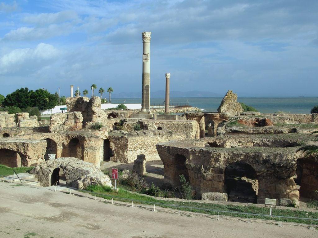 Imagine de Thermes d'Antonin. thermesdantonin carthage tunis tunisian