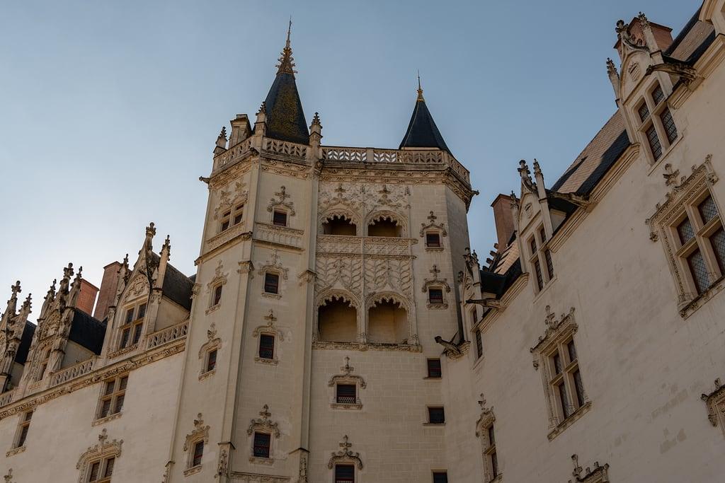 Image of Château des Ducs de Bretagne. nantes paysdelaloire france fr