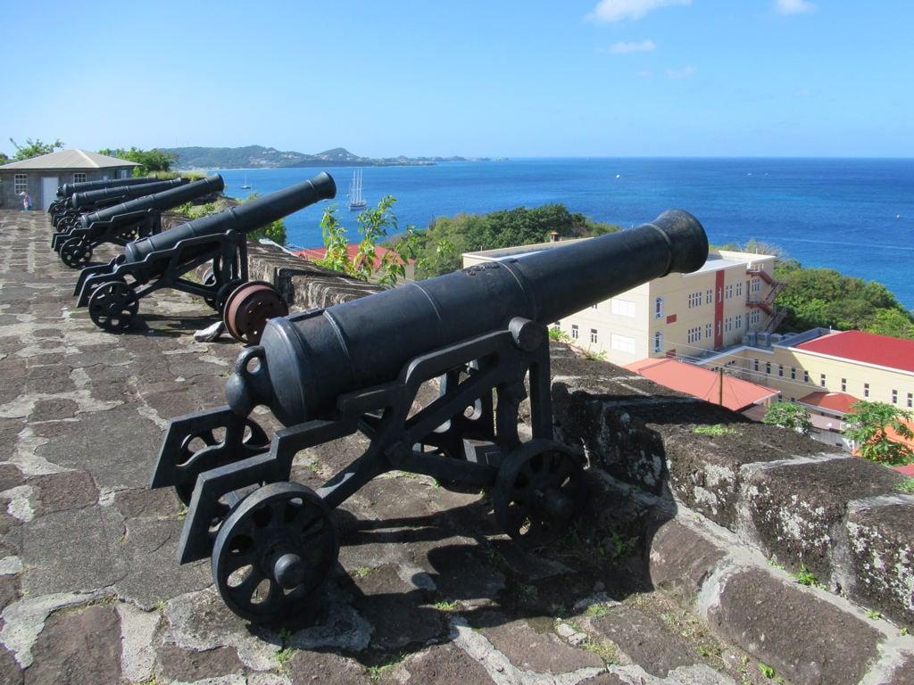 Image de Fort George. fortgeorge stgeorges grenada caribbean