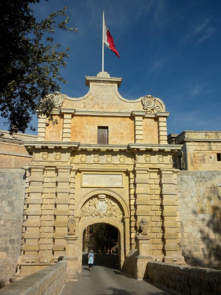 Immagine di Mdina Gate. malta mdina