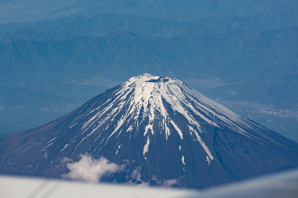Billede af Mount Fuji. mountfuji okinawapresentation