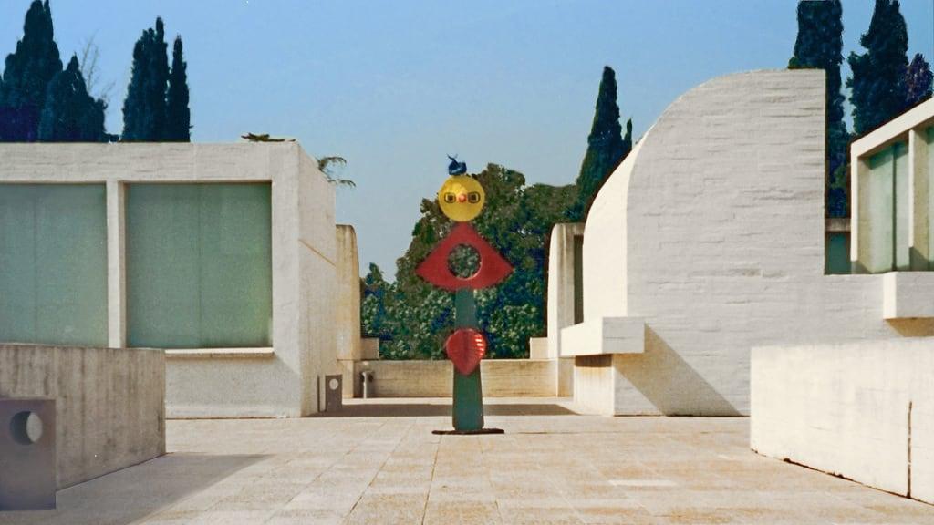 Billede af Joan Miró. dalbera barcelone espagne catalogne miro sculpture fondationmiro