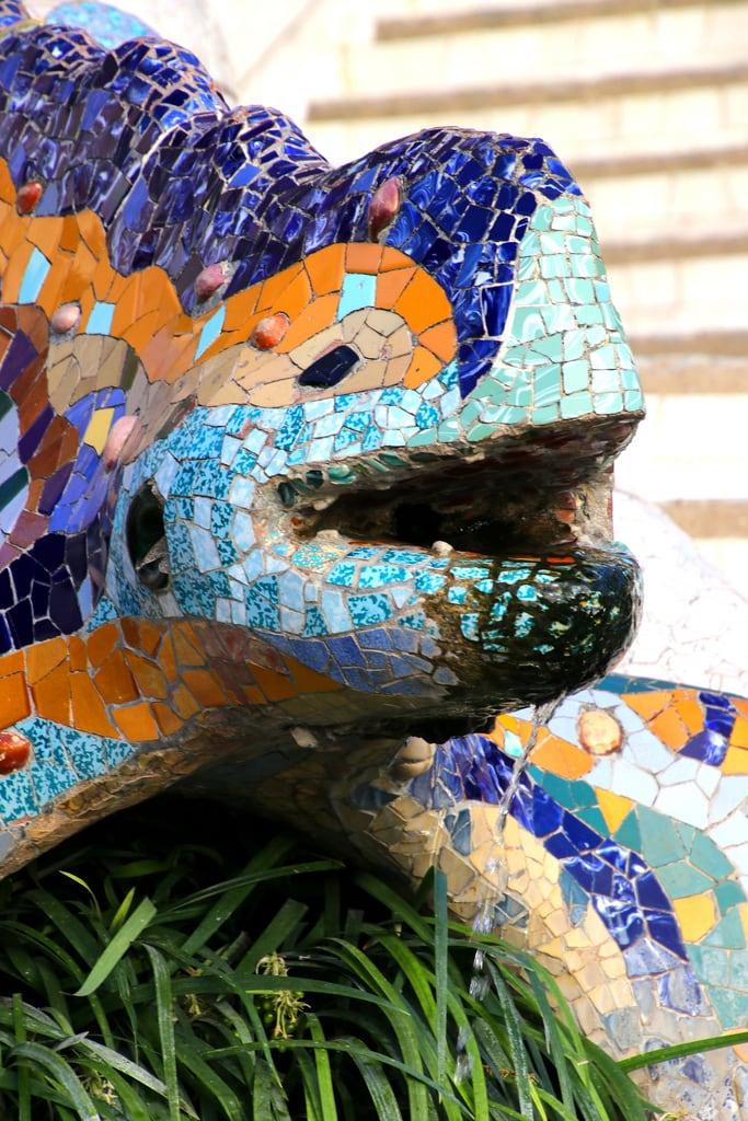 Εικόνα από Parc Güell. barcelona barcelone gaudi parcgüell parquegüell parkgüell catalunya cataluña catalonia catalogne españa espagne spain spanien giåm guillaumebavière