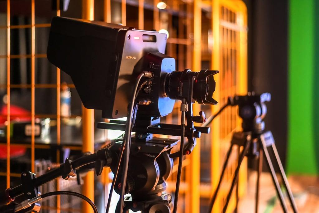 Εικόνα από Barcelona. tvset platódetv platódetelevisión cámara camera blackmagicdesignstudiocamerahd cámaradeestudio realizacióntelevisiva realizaciónaudiovisual televisionproduction