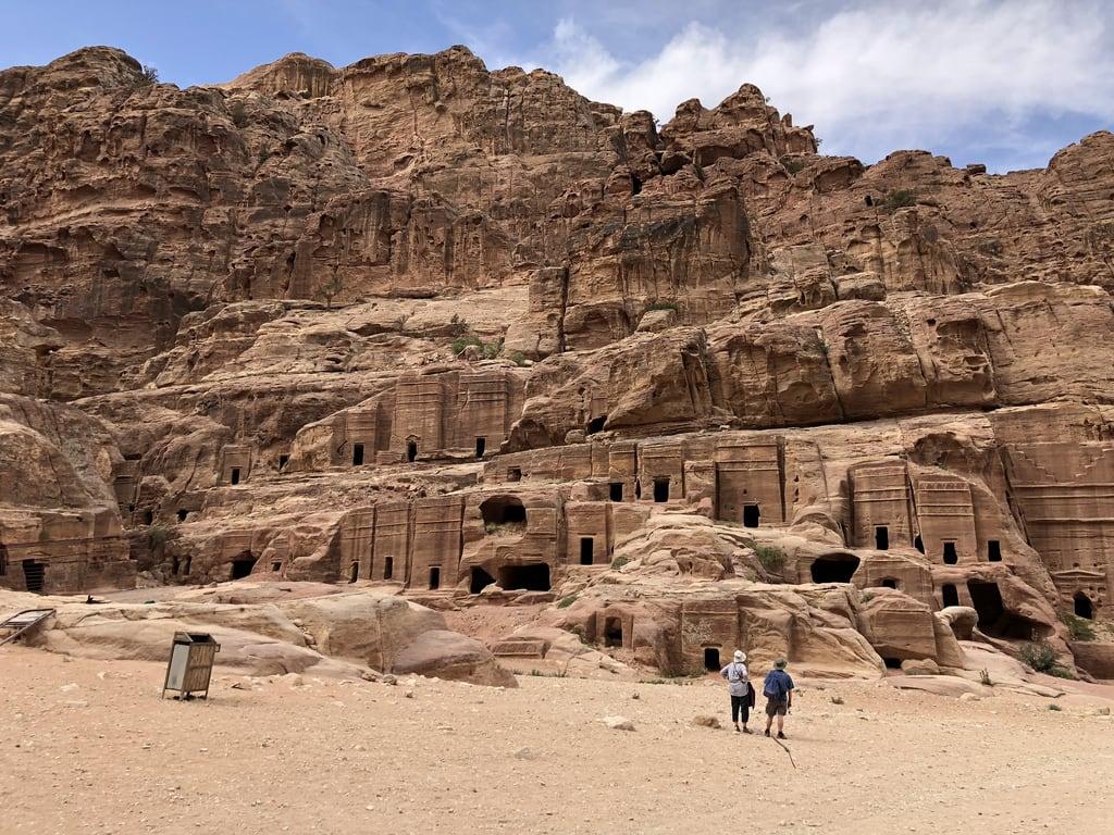 Petra जवळ पेत्रा की छवि. jordan petra streetoffacades