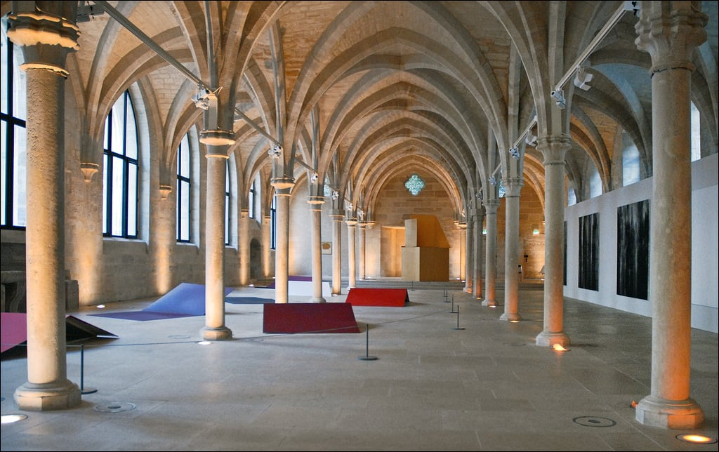 Collège des Bernardins 的形象. paris france nef dalbera architecturecistercienne collègedesbernardins