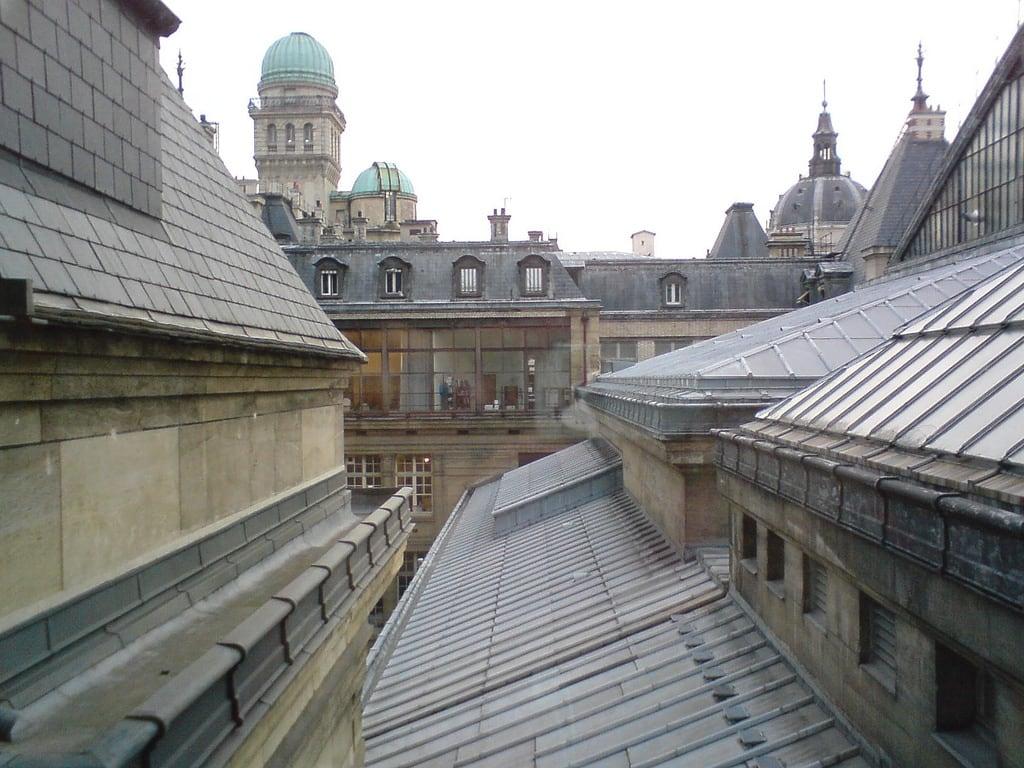 La Sorbonne 的形象. roof sorbonne toît