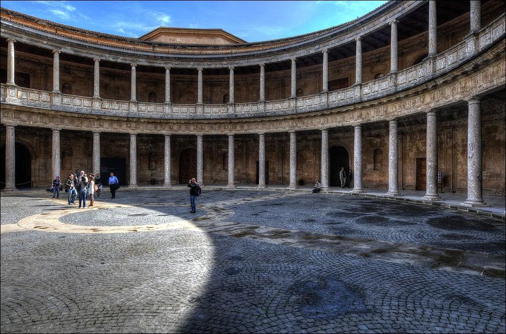 Billede af Palace of Charles V i nærheden af Granada. spain alhambra granada andalusia nikond300 1424mmf28g nikon1424mmafszoomnikkor28ged