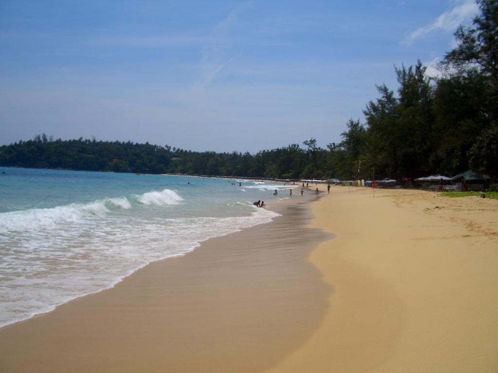 Image of Kata Yai Beach. beach thailand phuket