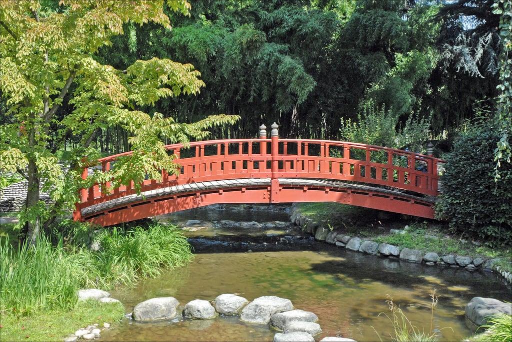 Jardin japonais 的形象. france pont boulognebillancourt jardinjaponais dalbera jardinalbertkhan