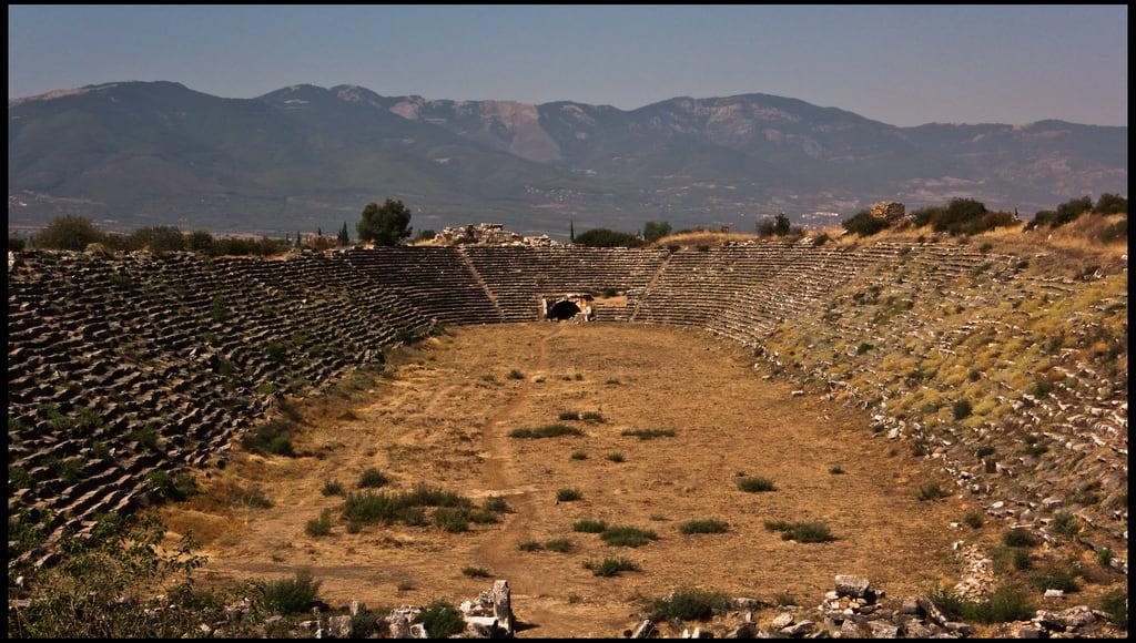 Image of Aphrodisias. turkey ancient ruins roman stadium turkiye romano estadio ruinas empire turquia aphrodisias aydin imperio afrodisias geyre