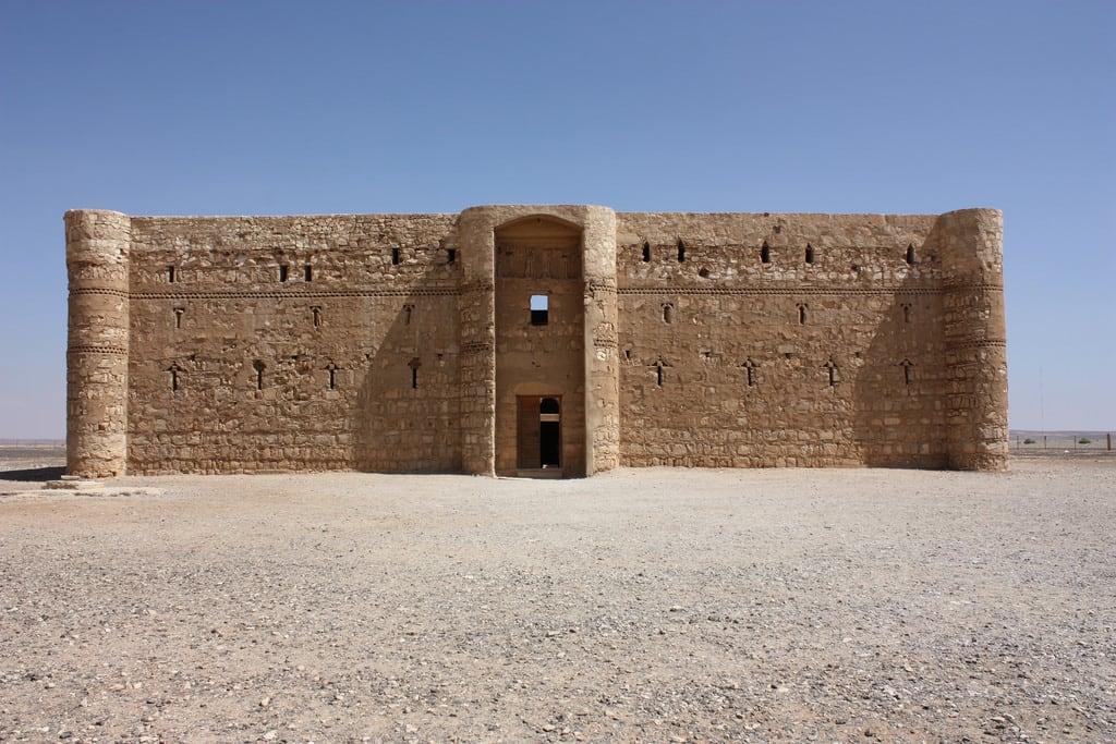 Bild von Qasr Kharana. qasrkharana jordan desertcastle castle desert 2010 قصرخرّانة qasralharrana qasralkharanah kharaneh hraneh umayyad walidi
