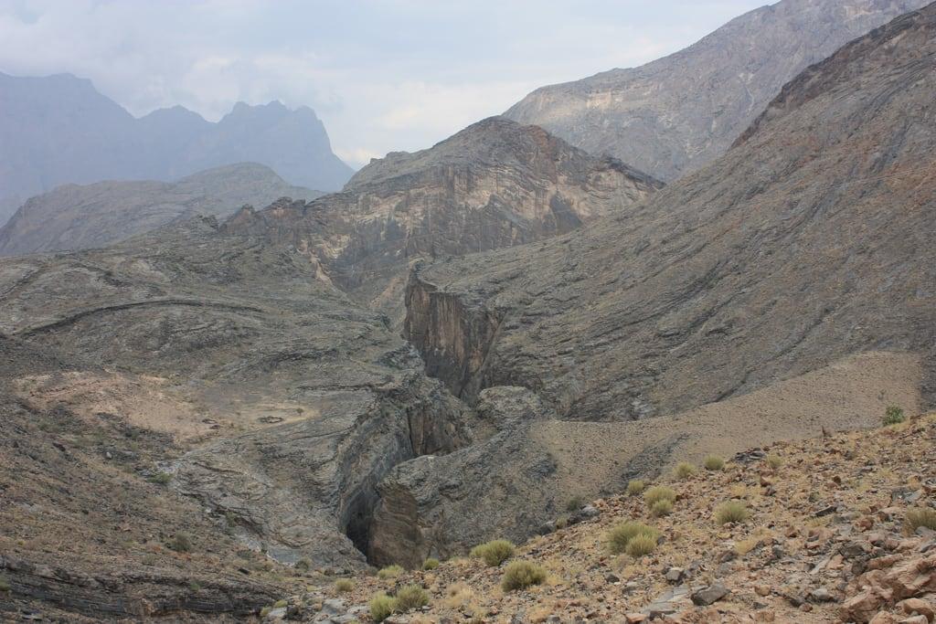 תמונה של Snake Canyon. wadibaniawf snakecanyon oman wadi canyon baniawf wadibaniauf gorge snakegorge wadibimah 2010