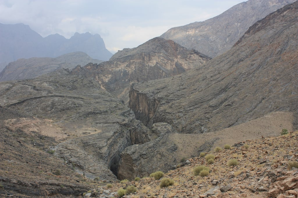 صورة Snake Canyon. wadibaniawf snakecanyon oman wadi canyon baniawf wadibaniauf gorge snakegorge wadibimah 2010
