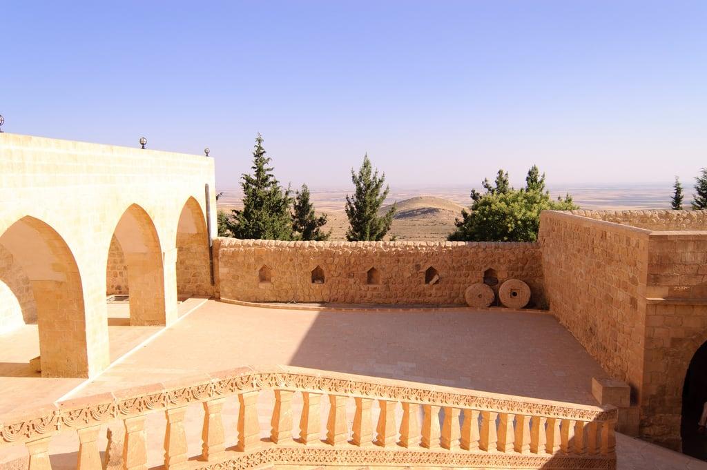 Image of Mor Hananyo Monastery. turkey monastery mardin turabdin syriac deyrulzafaran morhananyo