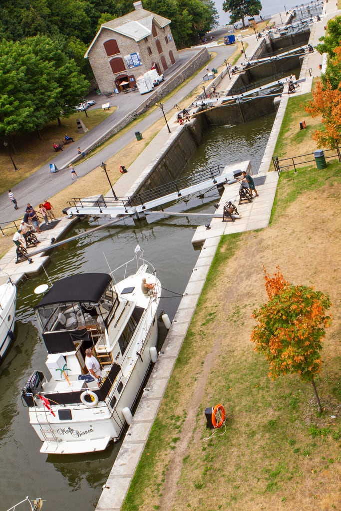 Image of Rideau Canal Waterway.
