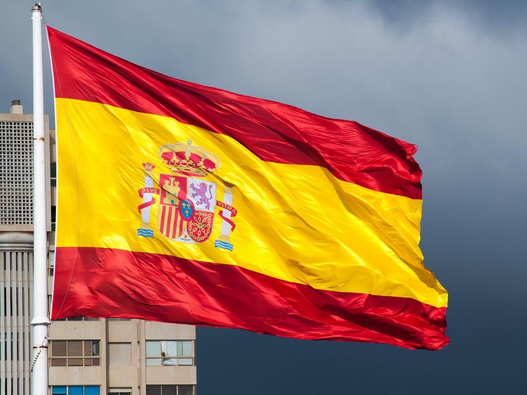 Obrázek Bandera. españa grancanaria spain flag canarias bandera canaryislands laspalmas laspalmasdegrancanaria