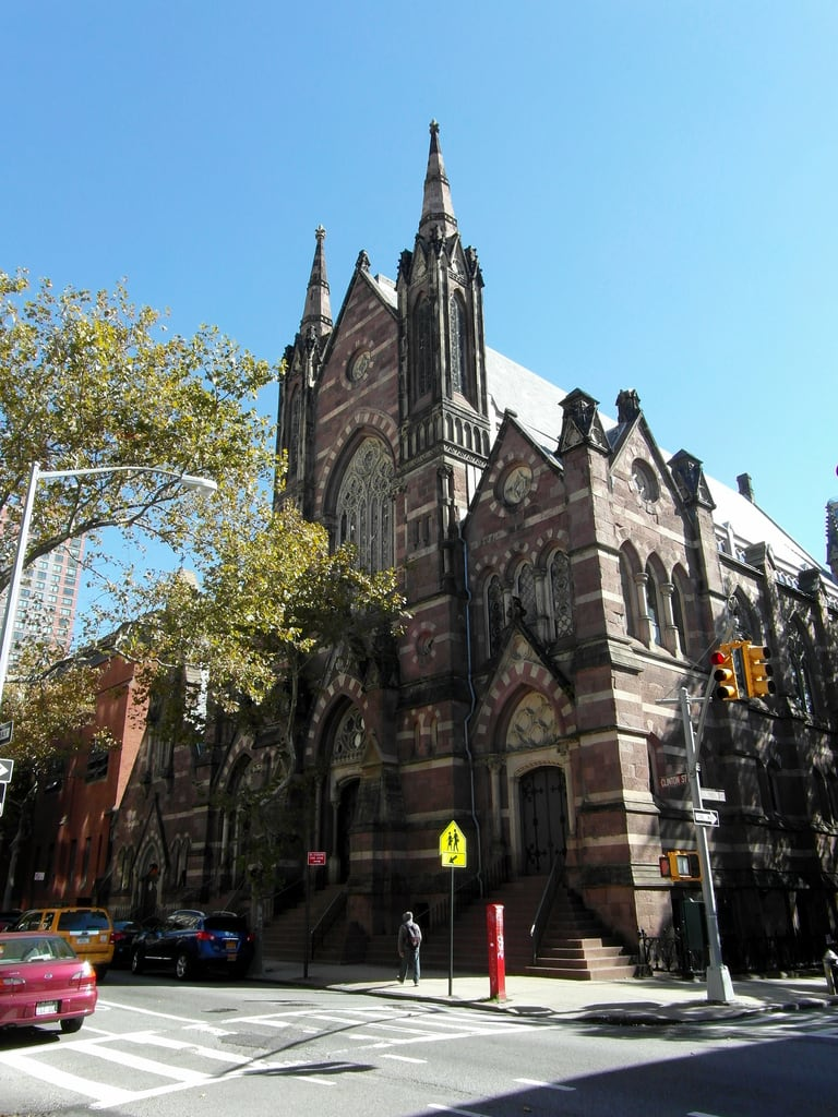 Kuva Sands Street. newyork church brooklyn