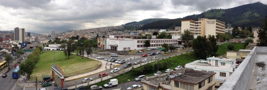 Image of Plaza Indoamerica. plaza quito ecuador central universidad patrimonio indoamerica
