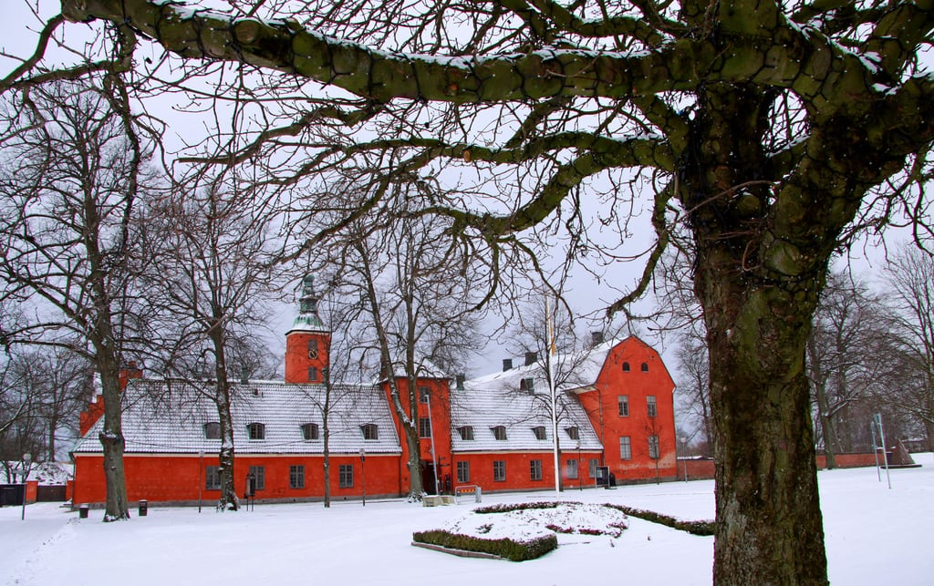 Image of Halmstad slott. castle sweden schweden sverige slot chateau schloss suede halmstad slottet halland slott