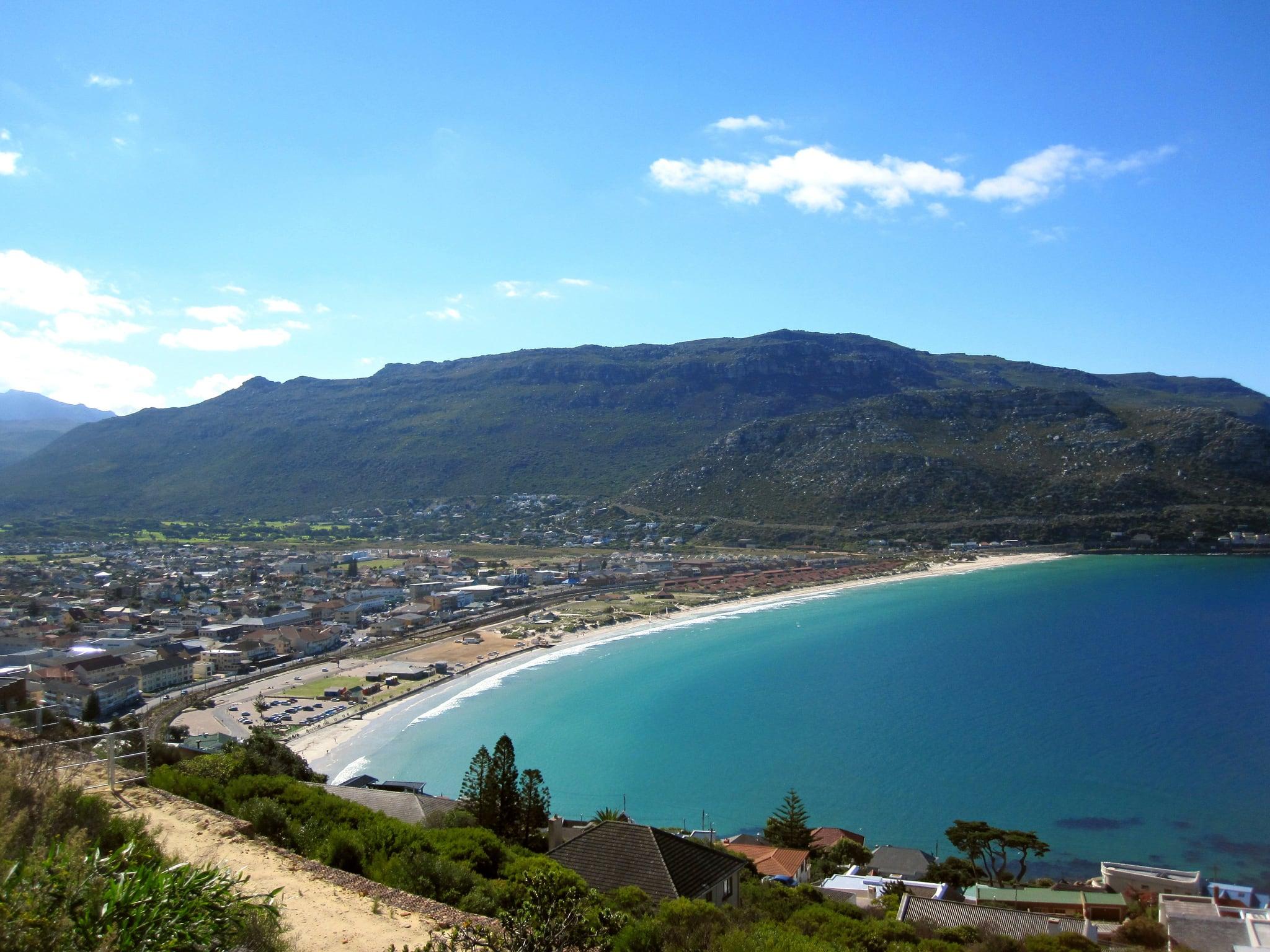 Obrázek Fish Hoek Beach. southafrica capeprovince