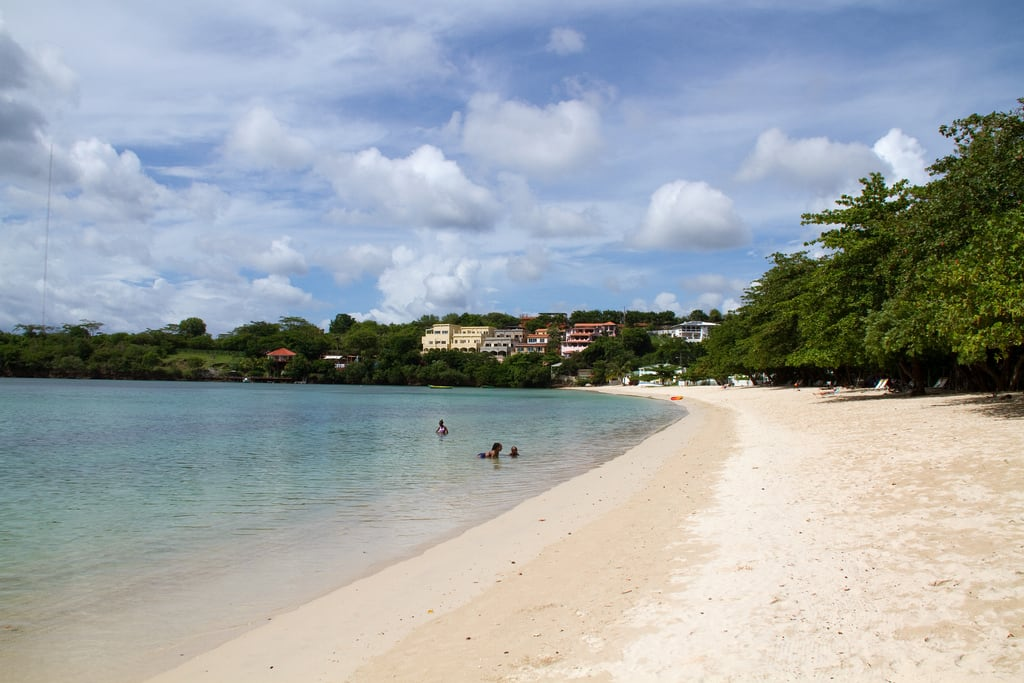 Morne Rouge Beach 의 이미지. grenada west indies