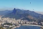 Zdjęcie:   Brazylia  Rio de Janeiro  Copacabana  (rio de janeiro, widoki z corcovado, widok z góry głowa cukru)
