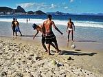 Zdjęcie:   Brazylia  Rio de Janeiro  Copacabana  (brazylijczyk, piłkarz, copacabana)