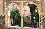 Zdjęcie:   Hiszpania  Andaluzja  Granada  (alhambra, okno, zobacz)