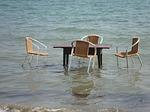Zdjęcie:   Grecja  Korfu  Agios Georgios  (tabela, korfu, beach)